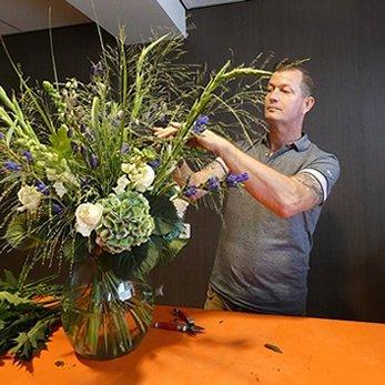 Peter van Dam - eigenaar Anjelier Bloembinders
